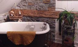 Maison ancestrale Barker rénovation de salle de bain