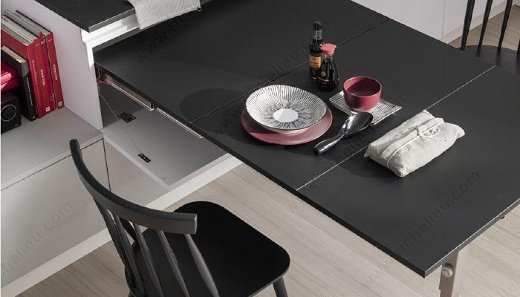 table rétractable